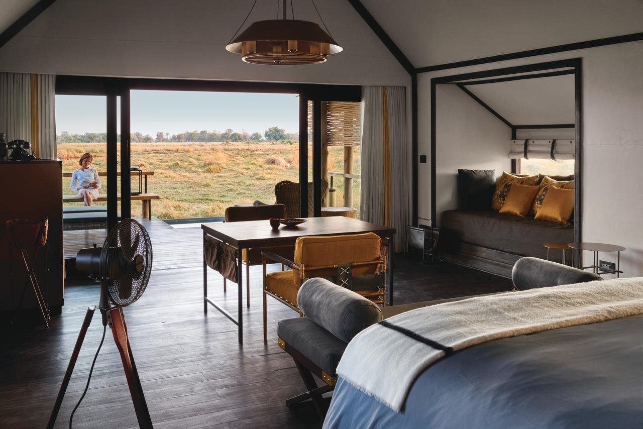 The rooms at Eagle Island Lodge