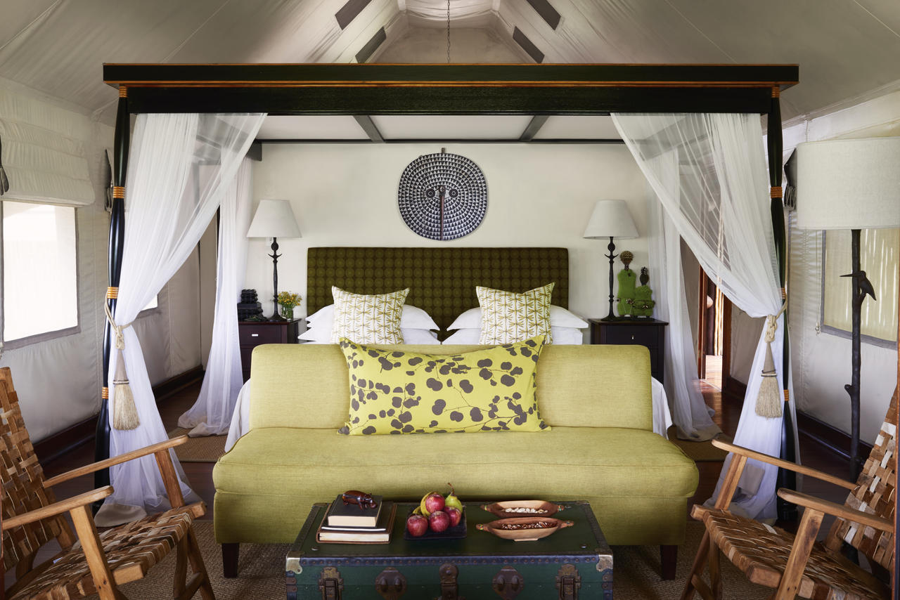 Khwai River Lodge room.