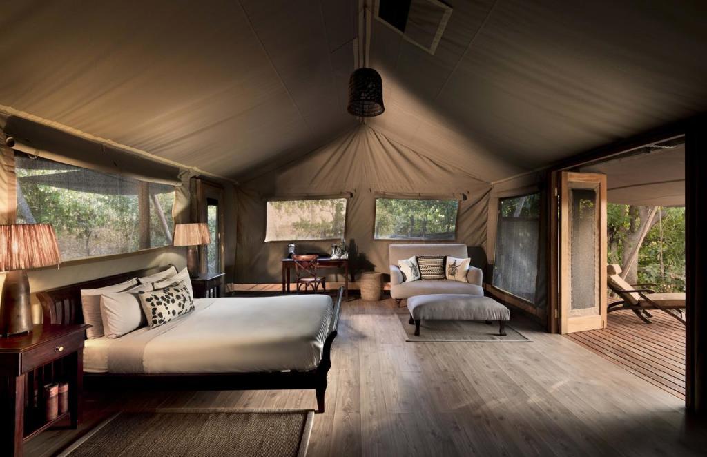 Linyanti Bush Camp Accommodation.