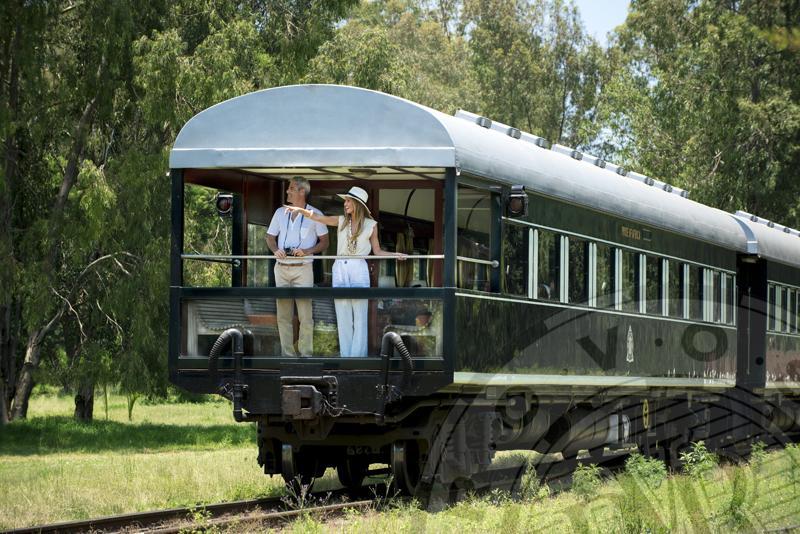 Golden Age Safari Rovos Rail