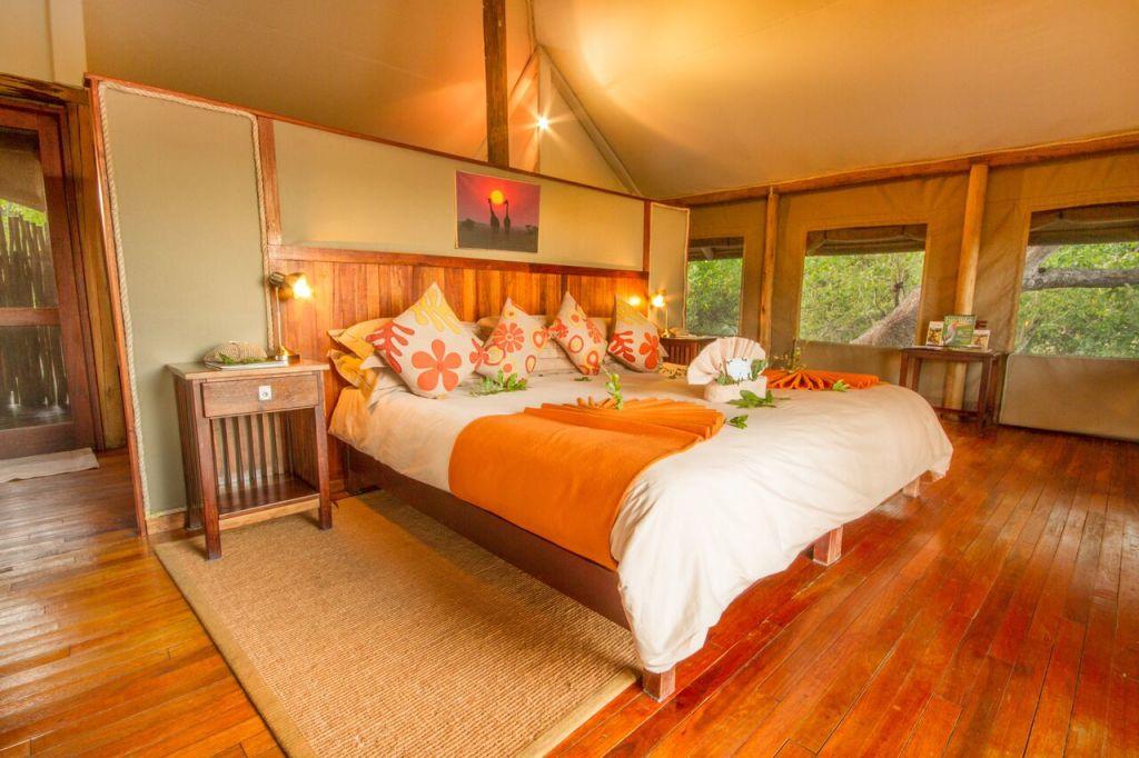 Kwando Safaris Little Kwara tent inside_preview