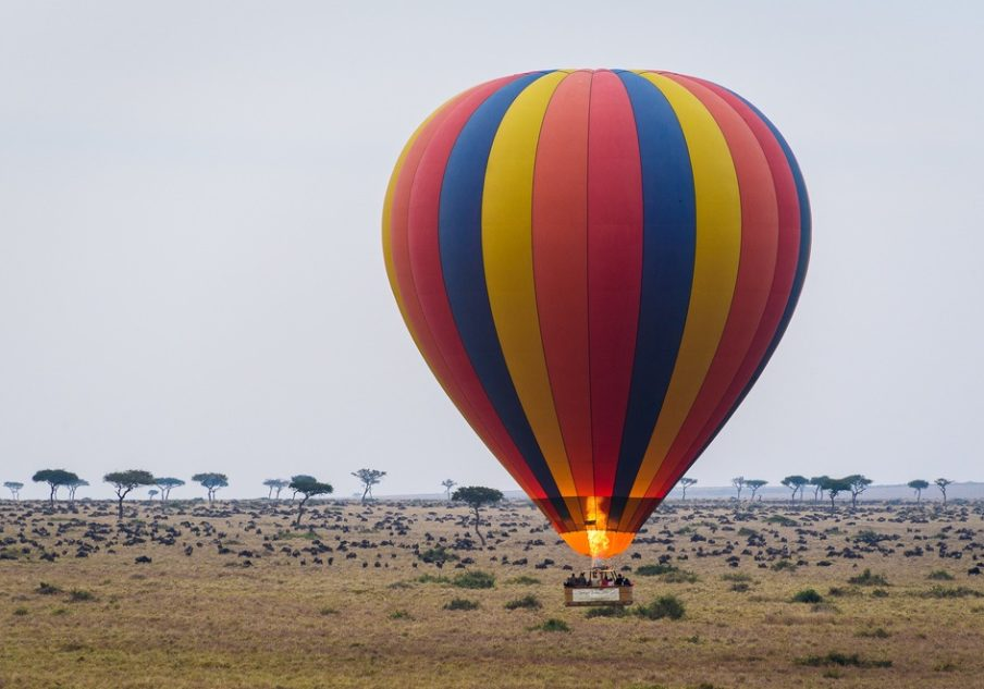 Liquid Giraffe, Ballooning Safari, Sky Safari, African Ballooning Safari, Okavango Delta, Maasai Mara
