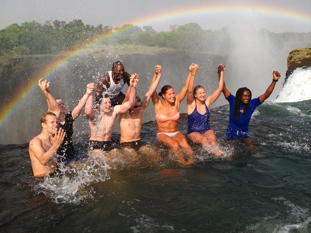 Liquid Giraffe, African Safari, African Safari Destinations, Southern Africa Safaris, Victoria Falls, Livingstone Island